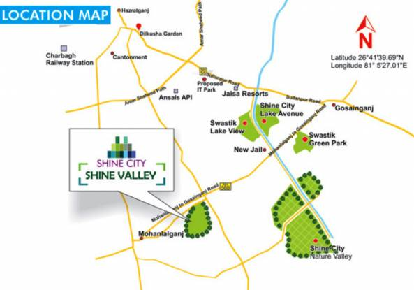 Shine Valley Location Plan