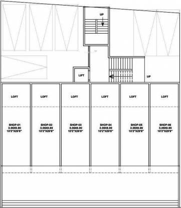 Platinum Gurudev Tower Cluster Plan