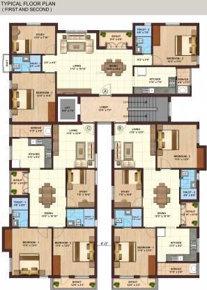Kgeyes Madipakkam 280 Cluster Plan