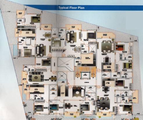 AR Falcon Nest Cluster Plan