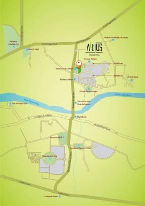 Nirman Altius Location Plan