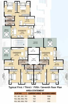Shubham Shubham Tower Cluster Plan