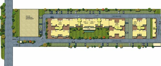 Alliance The Eminence Site Plan