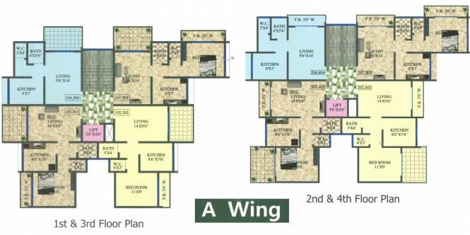 Mahalaxmi Paradise Cluster Plan