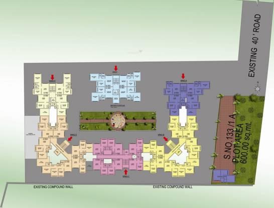 Mahalaxmi Paradise Site Plan