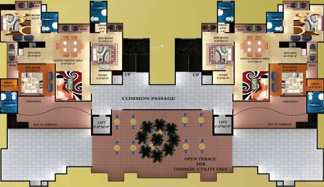 Sas Divine Cluster Plan