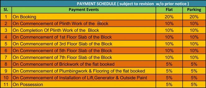 Akchat Laxmi Garden Payment Plan