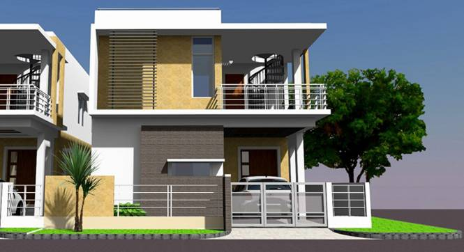 Harini Harini Mansion Elevation