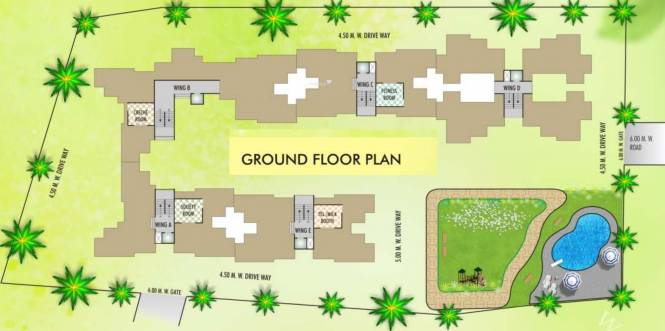 Sunny Orchid Homes Cluster Plan