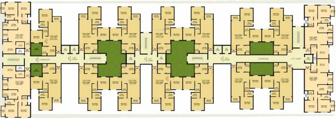 Samruddhi Lumbini Heights Cluster Plan