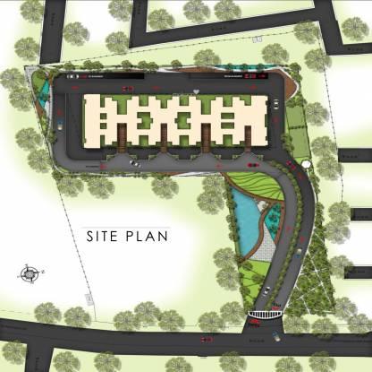 Samruddhi Lumbini Heights Site Plan