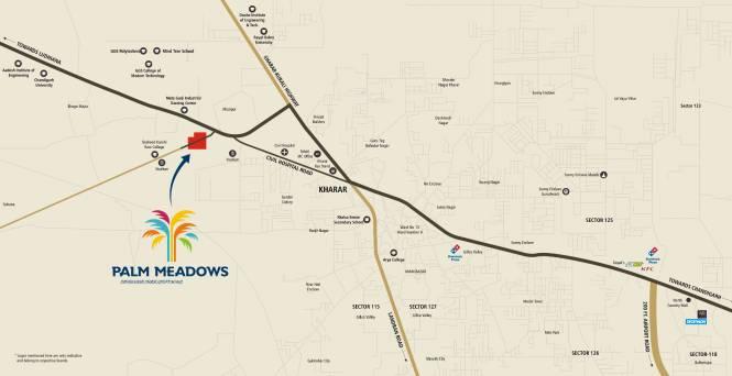 Ubber Palm Meadows Location Plan