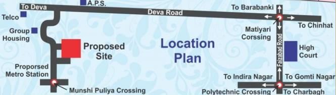 Surya Phase III Location Plan