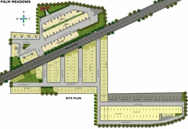 Ubber Palm Meadows Plot Layout Plan