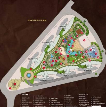 Paradise Sai World Empire Site Plan