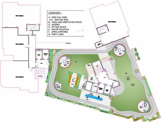 Kotecha Royal Essence Cluster Plan