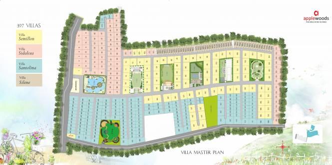 Applewoods Silene Master Plan