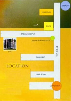 BCN Shyam Vihar Phase II Location Plan