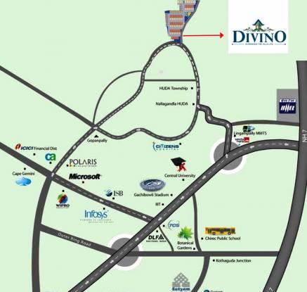 Incor Divino Location Plan