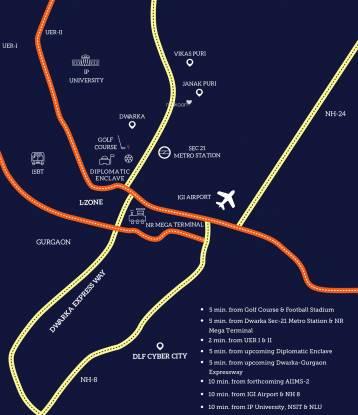 Revanta Heights Location Plan
