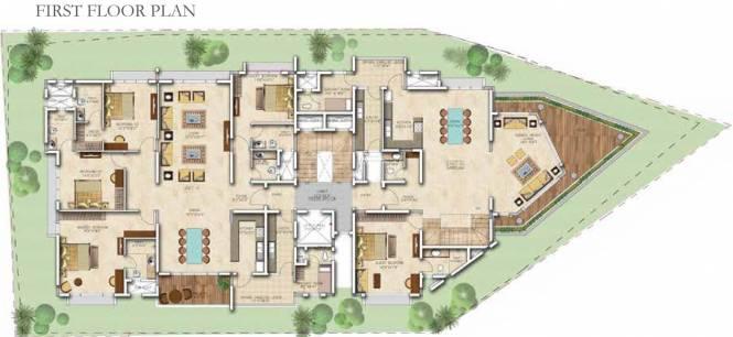 Salarpuria Sattva Casa Crescent Cluster Plan