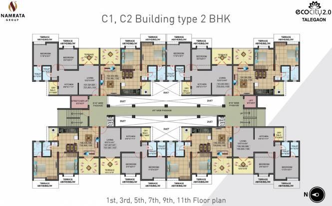 Namrata Eco City 2 Cluster Plan