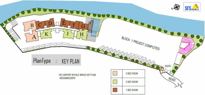 SFS Airport Royale Wings Site Plan