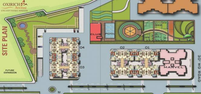 Oxirich Square One Site Plan
