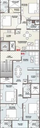 Icarus Usha Residency Cluster Plan
