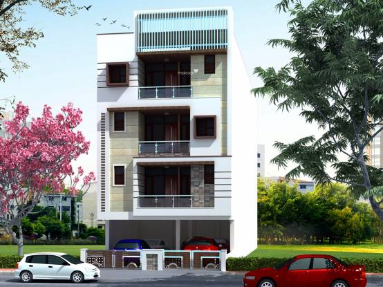 Icarus Usha Residency Elevation