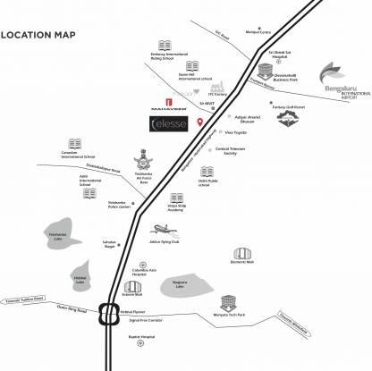 Mahaveer Celesse Location Plan
