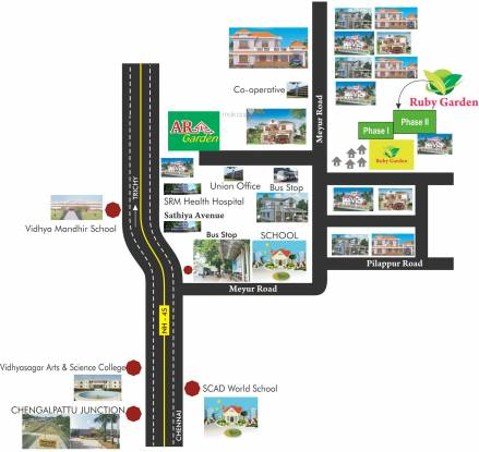 ARS AR Garden Location Plan