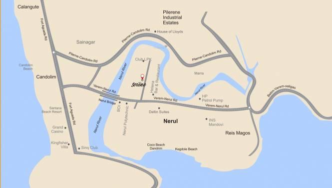 Umiya Serene Location Plan
