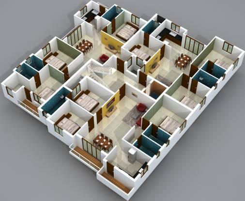 Lakshmi Mylapore Kutchary Road Cluster Plan