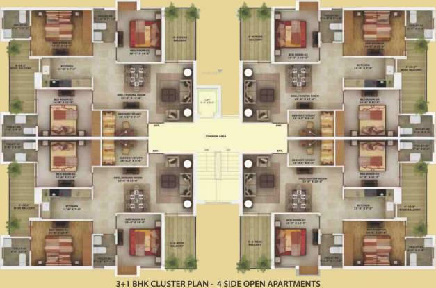 Wisteria Nav City Cluster Plan