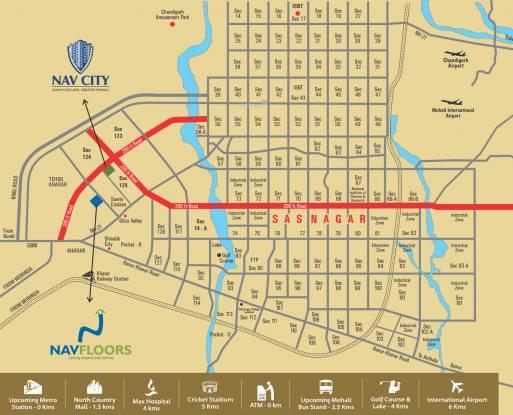 Wisteria Nav City Location Plan