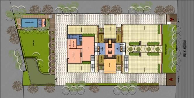 Goyal Riviera One Site Plan