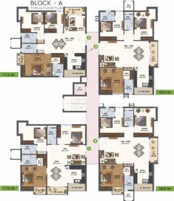 Ayyanna Prestige Cluster Plan