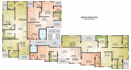 1145 sqft, 2 bhk Apartment in Builder Midas HeightsDurgapura Durgapura, Jaipur at Rs. 60.0000 Lacs