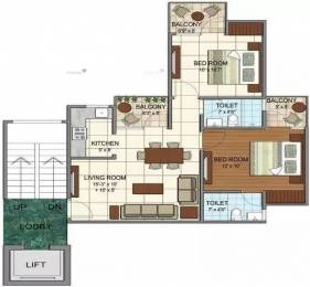 850 sqft, 2 bhk Apartment in Terra City Floors Hasanpur, Bhiwadi at Rs. 20.0000 Lacs