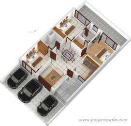 1250 sqft, 3 bhk Apartment in Primary Arcadia Dream Homes Sector 116 Mohali, Mohali at Rs. 35.0000 Lacs