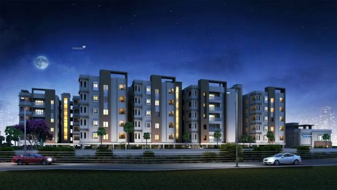 1220 sqft, 2 bhk Apartment in Builder Project Tada, Nellore at Rs. 33.5500 Lacs