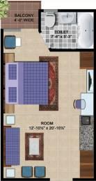 429 sqft, 1 bhk Apartment in Express Hare Krishna Orchid Vrindavan, Mathura at Rs. 19.5000 Lacs