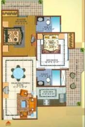 1075 sqft, 2 bhk Apartment in Gardenia Square Crossing Republik, Ghaziabad at Rs. 38.0000 Lacs