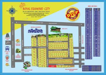 1500 sqft, Plot in Builder Royal Diamond City Periyapalayam, Chennai at Rs. 9.7500 Lacs