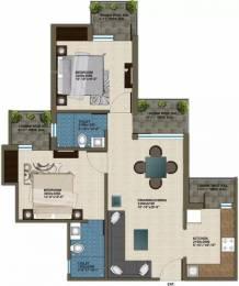 1025 sqft, 2 bhk Apartment in Krish Aura Sector 18 Bhiwadi, Bhiwadi at Rs. 30.0000 Lacs