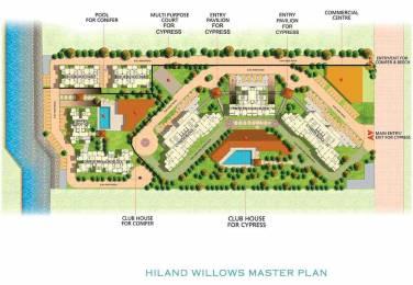2050 sqft, 3 bhk Apartment in Hiland Willows New Town, Kolkata at Rs. 1.0000 Cr