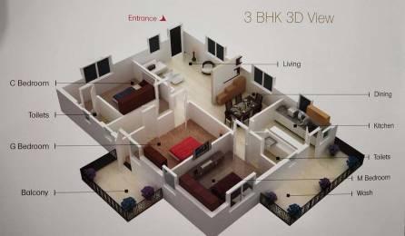 1579 sqft, 3 bhk Apartment in SSVS Builder and Developer Jackies RK Square Uppal Kalan, Hyderabad at Rs. 66.6600 Lacs