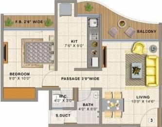 635 sqft, 1 bhk Apartment in Sai Balaji Atlanta Edenworld Bhiwandi, Mumbai at Rs. 26.0000 Lacs