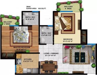 925 sqft, 2 bhk Apartment in Delhi Delhi Gate Chhawla, Delhi at Rs. 34.6000 Lacs